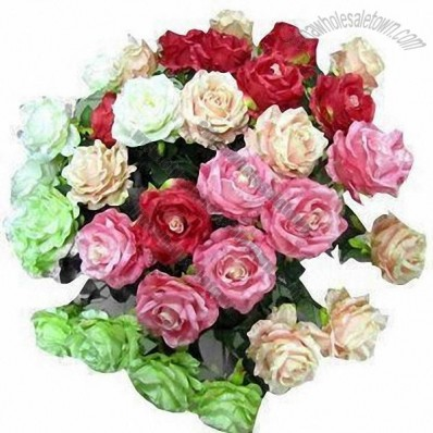 Single Rose Flower Bouquet For Wedding Party Decoration