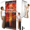 Single Sided L Banner Stand