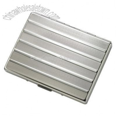Single-Sided Silver Cigarette Case