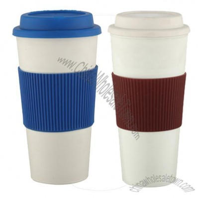 Single Wall Plastic Coffee Mug