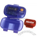 Single function digital pedometer