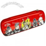 Single layer pencil case with zipper