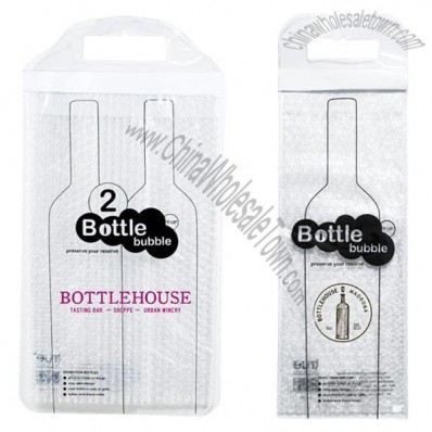 Single or Two Bottle Bubble Bag