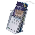 Single pocket tri-fold acrylic brochure holder 2