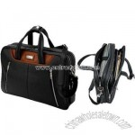 Siracusa Panarcci & Throw Leather Briefcase