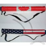 Six Pack Tube Cooler with Flag Design