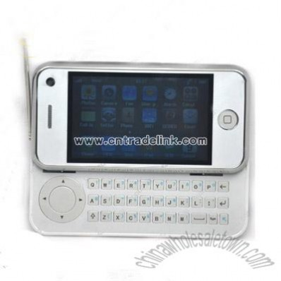 Slide Mobile Phone With WiFi TV Java A8