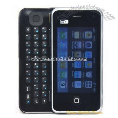 Slide Mobile Phone with WiFi TV Java E2000