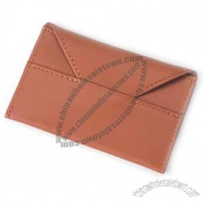 Slim Card Envelope - Bridle Leather