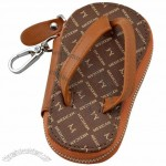 Slipper Leather Key Case