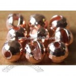 Slotted Disco Beads Made from Tungsten