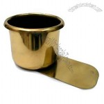 Small Brass Slide Under Cup Holder