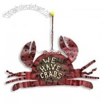 Small Crabs Hanging