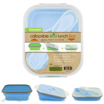 Small Eco Silicone Collapsible Lunch Box
