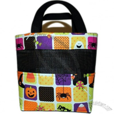 Small Halloween Trick or Treat/Boo Bag-Colorful, Fun, Candy Corn
