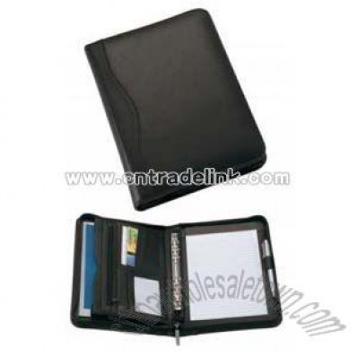 Small Leather Binder