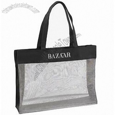 Small Luxury Mesh Tote Bag