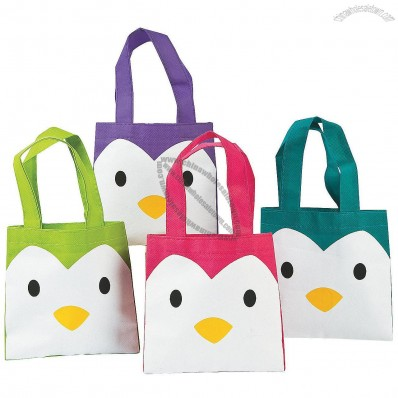 Small Penguin Tote Bags
