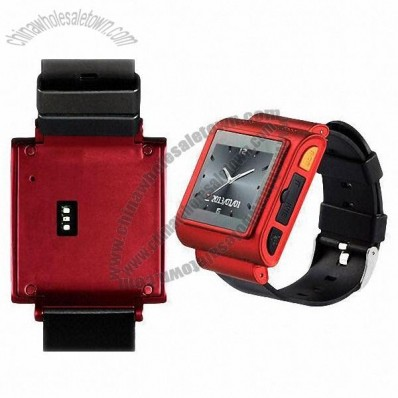 Smart Heart Rate Monitor Watch Phone With Pedometer, GPS Navigation