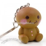 Smiling Cookie Keyring