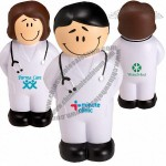 Smiling Doctor Shape Stress Balls