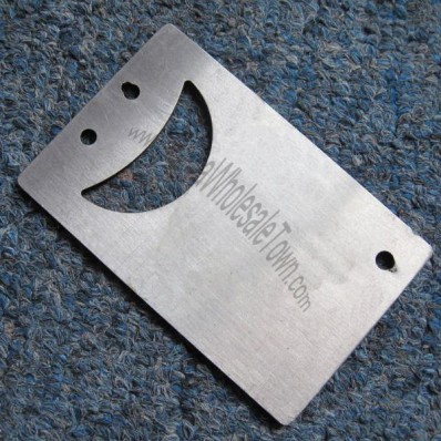 Smiling Face Card Bottle Opener