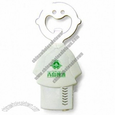 Smiling Face Silicone Bottle Opener