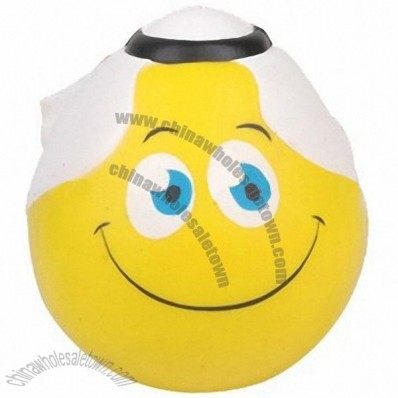 Smiling Face Stress Ball with Arab Scarf
