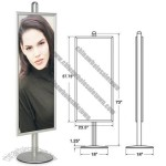 Snap Frame -  Banner Pole Vertical Display Stand 22