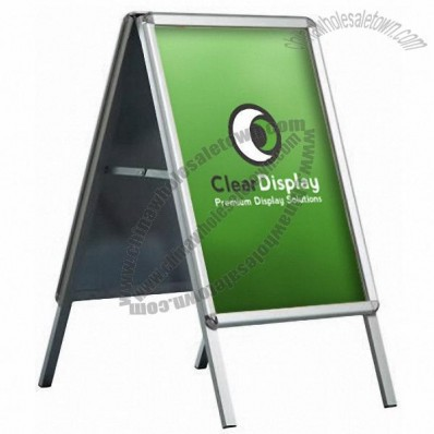 Snap frame A-board