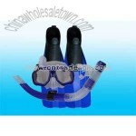Snorkel and Fins (Diving Mask)