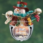 Snow-Bell Holidays Snowman Ornament