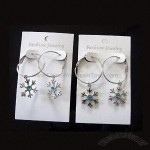 Snow Flowers Earrings