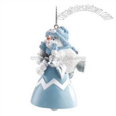 Snowbuddies Powder Puff Ornament