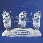 Snowbuddies Sister Figurines