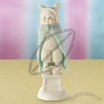 Snowbunnies Time for Super Bunny Figurine
