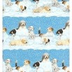 Snowdogs Christmas Gift Wrap