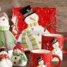 Snowman Ceramics Collection Mugs