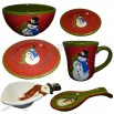 Snowman Christmas Tableware Set