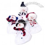 Snowman Drawstring Candy Bag
