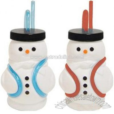 Snowman Sipper Cups