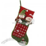 Snowmen Stocking Advent Calendar