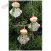 Snowmen With Dangling Legs 10 Light Set