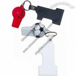 Soccer & Basketball Whistle with #1 Tag