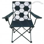 Soccer Design Folding Arm Chair