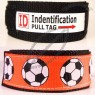 Soccer Design ID WristBand