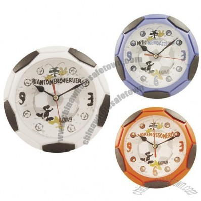 Soccer Design Plastic Wall Clocks
