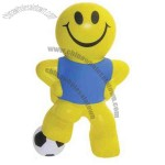 Soccer Smiley Stress Reliever