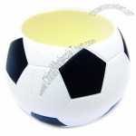 Soccer Stress Ball Pen Holder