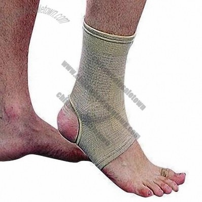 Soft Elastic Ankle Support for Preventing Injuries and Rehabilitation Purposes